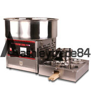 220v 1000w Commercial Upgrade Section Electric Automatic Cotton Candy Machine