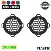 Advanblack X Xbs Color Match Hex Speaker Grills For 13down Electric Street Glide