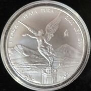 2021 Mexican / Mexico Silver Libertad 1 Oz Silver Coin With Capsule - In Stock