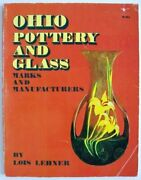 Ohio Pottery And Glass Marks And Manufacturers By Lois Lehner
