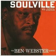 Ben Webster - Soulville - Cd - Import Limited Edition - Excellent Condition