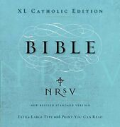 Nrsv Xl Catholic Edition By Harper Bibles - Hardcover Mint Condition