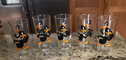 1973 Warner Brothers Inc. Pepsi Collector Series Daffy Duck Drinking Glasses