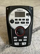 Roland Td-11 Drum Module With Power Supply, And Cable Harness