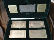 Sterling Silver Banknotes Anglo-palestianian Bank 1955