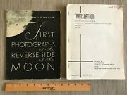 First Photos Reverse Side Moon / Atlas Of The Far Side Of The Moon 1960 Gc
