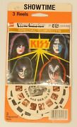 Kiss Viewmaster Sealed Aucoin 1979 Rare Showtime Card Sealed
