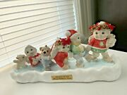Dreamsicles 1994 Third Edition Holiday On Ice Signed Figurine