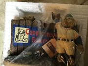 Lot Of 8 Cooperstown Bear Figurines No 00192 In Styrofoam And Boxes