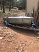 1959 Feather Craft Runabout W Trailer Titles On Both 1 Owner Since New