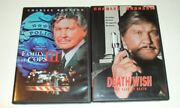 Charles Bronson Death Wish The Face Of Death/family Of Cops 3- 2 Dvd Movies