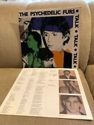 The Psychedelic Furs And039talkand039 Talk Talk Stereo Lp