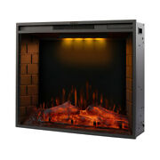Us Led Recessed Adjustable Electric Fireplace With Remote Control Touch Screen