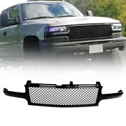 Mesh Front Hood Grille Grill Fit 2000-2006 Tahoe Suburban 2001 2002 2003 2004 Us