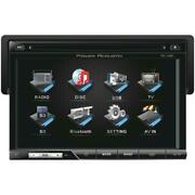 7 In. Single-din In-dash Tft-lcd Touchscreen With Dvd Detachable Face - With B