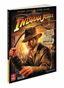 Indiana Jones And Staff Of Kings Prima Official Game By Stephen Stratton Mint