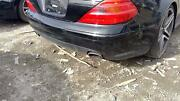 03-12 Mercedes Sl500 230 Type Rear Bumper Assembly Free Local Delivery Black
