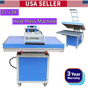 31x39 Large Format Clamshell Textile Thermo Transfer Heat Press Machine 220v