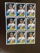 Ken Griffey Jr Rookie Card Collection 520 Rookie Cards Nmmt+