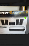 New Bose Lifestyle 38 Series Iv 5.1 Channel Home Theator System Black