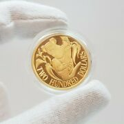 22ct 10gr Gold Proof Coin - 200 1985 Koala - In Case + Book 53588