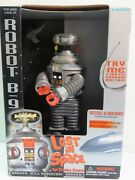 Lost In Space B-9 Robot Action Figure W/light/sounds, 1997 Trendmasters, Nrfb