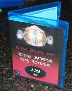 Best History Of The Nwa United States Us Title Championship Jcp Blu-ray Disc Set