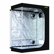 48x24x60 Reflective 600d Mylar Hydroponic 4and039x2and039 Grow Tent For 48andrdquox24andrdquox60andrdquo