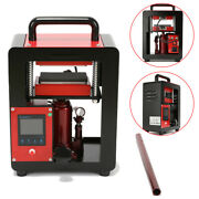 Rosin Press Machine Double Heat Digital Controller For Oil Extraction Tech 5 Ton