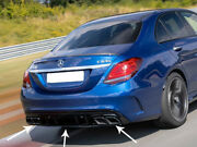 Mercedes Amg C63 S Facelift Rear Diffuser And Tailpipes Berlina Limo Estate
