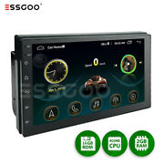 Double Din 7 Android 10 Car Stereo Gps Usb Mp5 Radio Player Bluetooth 2+16gb