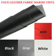 Marine Vinyl Fabric Faux Leather Sheets Craft Automotive Replace Re-upholstery