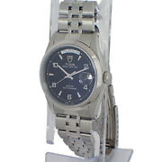 Tudor Wristwatch Men Date Day 76200 Automatic Black Dial Silver Dial Auth