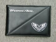 Scarce 2002 Pontiac Trans-am Collector Edition Manual Holder W/ Accessories Read