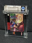 Snes Super Nintendo Snow White Happily Ever After New Factory Sealed Wata 9.4 A+