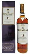 Macallan - Light Maghony Sherry Oak 2016 Annual Release 18 Year Old Whisky 70cl