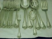 Wallace Flatware Grand Colonial Pattern In Sterling Silver Cr. 1942 67 Pc
