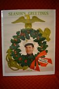 Post Wwii Usmc Recruitment Holiday Poster