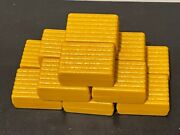 Ertl Yellow Hay Bales 164 Scale 12 Piece Farm Toy Accessory Lot