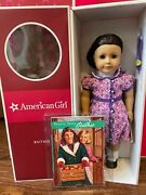 New American Girl Ruthie Doll + Book + Hair Ribbon Kitand039s Best Friend In Mint Box