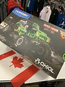 Axial 1/10 Smt10 Grave Digger 4wd Monster Truck Brushed Rtr Rc Truck
