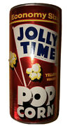 1960andrsquos Sealed Jolly Time Economy Size Yellow Hulless Pop Corn Aluminum Can