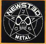 Newsted Metal Band Signed Autographed Cd Jason Newsted Original 4 Song Ep