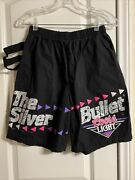 Vtg 90s Coors Beer Shorts Black Zoodas 1992 Beer Can Holder Women's Large