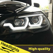 2007-2013 Led Turn Signal Dynamic Headlights Assembly For Bmw X5 E70 One Set.