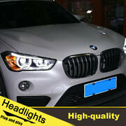 2016-2018 Led Turn Signal Dynamic Headlights Assembly For Bmw X1 One Set.