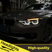 2012-2016 Led Turn Signal Dynamic Headlights Assembly For Bmw F30 One Set.