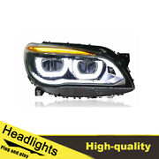 09-15 Led Turn Signal Dynamic Headlights Assembly For Bmw 7s 740 One Set.