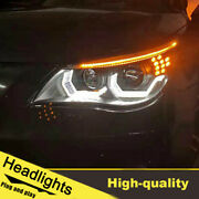 08-10 Led Turn Signal Dynamic Headlights Assembly For Bmw 5series E60 One Set.