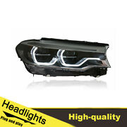 18-20 Led Turn Signal Dynamic Headlights Assembly For Bmw 5series G38 One Set.